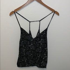 Free People Cropped Strappy Tank